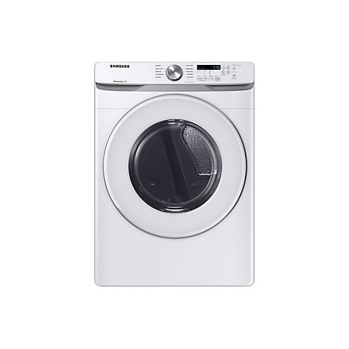 7.5 cu. ft. Electric Dryer with Sensor Dry in White - ENERGY STAR®