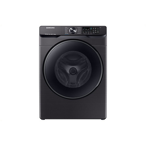 5.2 cu. ft. High-Efficiency Front Load Washer with Steam in Black Stainless Steel -  ENERGY STAR®