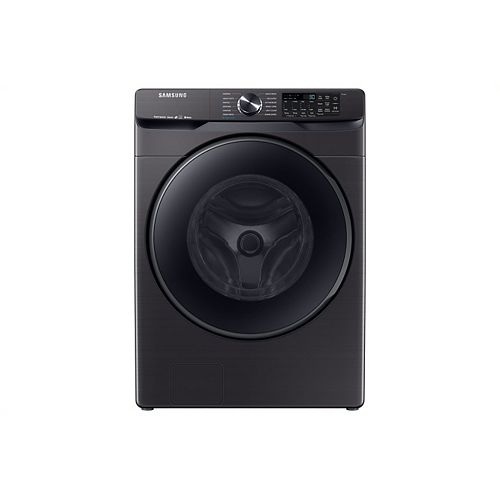 5.8 cu. ft. High-Efficiency Front Load Washer with Steam in Black Stainless Steel -  ENERGY STAR®