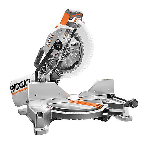 15 Amp 10 -inch Dual Miter Saw with LED Cut Line Indicator