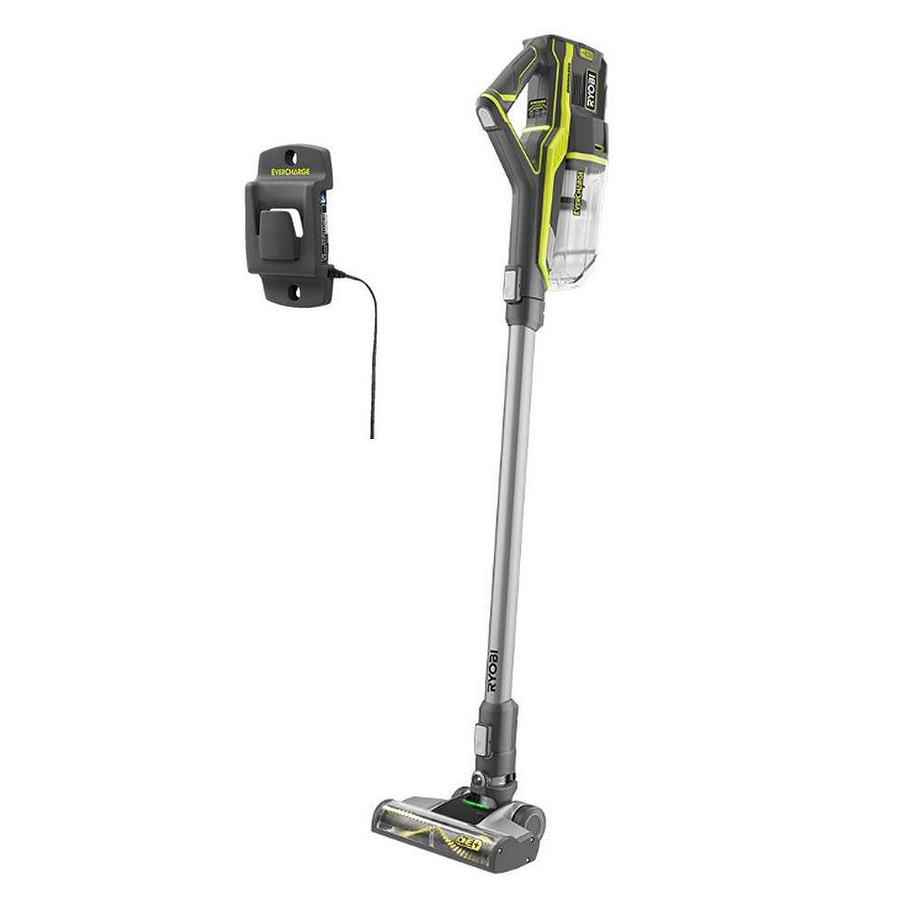 RYOBI 18V ONE+ Lithium-Ion Cordless Stick Vacuum Cleaner (Tool Only)