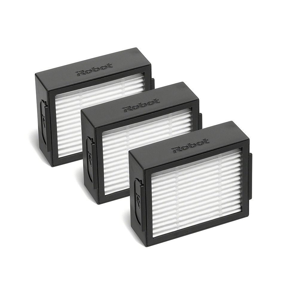 iRobot Filtres pour Roomba, séries e et i, paquet de 3