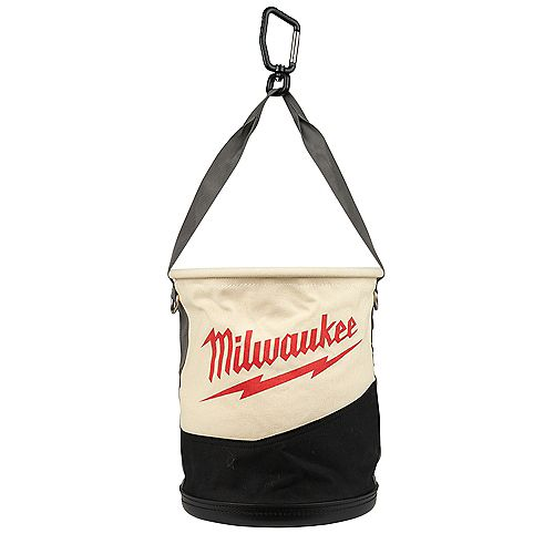 14.5 -inch Canvas Utility Bucket Tool Bag