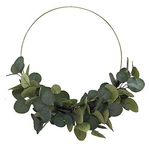 39,3 cm Couronne d'eucalyptus