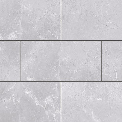 Bay Area Fog 12-inch Width x 23.82-inch Length Luxury Vinyl Tile Flooring (23.82 sq. ft. / case)