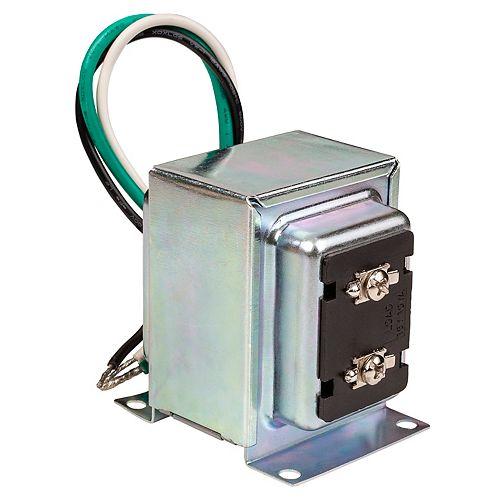 Transformateur 16VAC / 30VA compatible avec toutes les sonnettes vidéo