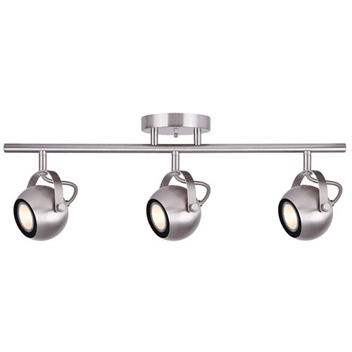 Murphy 3-Light Brushed Nickel Track Light