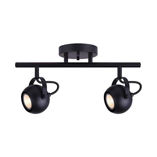Murphy 2-Light Matte Black Track Light