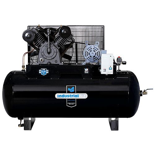 120 Gal. 200V Stationary Electric Air Compressor