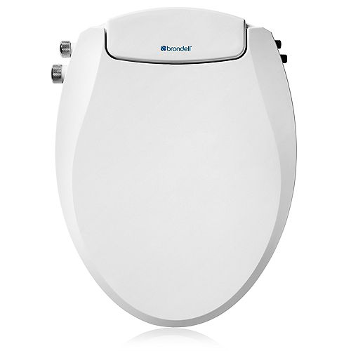 Swash Ecoseat Dual Temp Non-Electric Bidet Seat, Elongated White