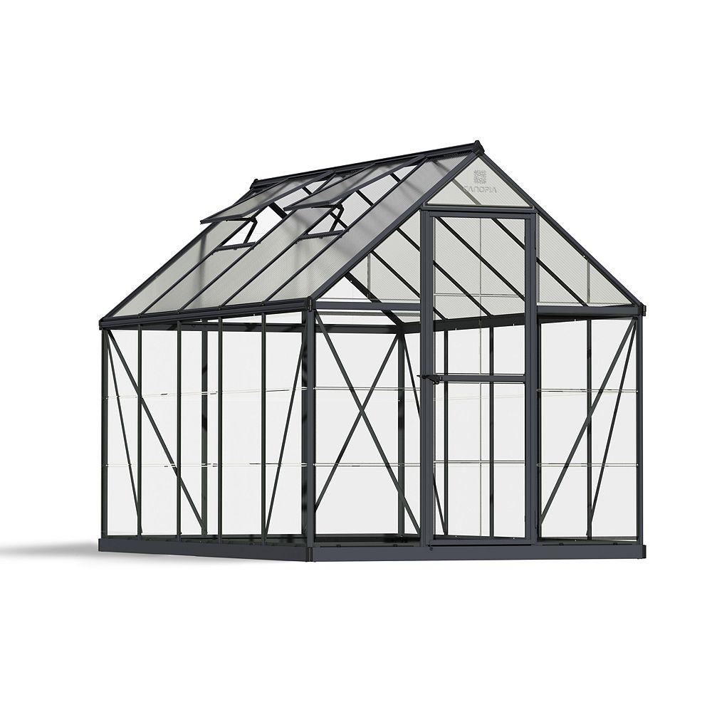 Palram Palram Hybrid 6 ft. x 10 ft. Greenhouse in Grey