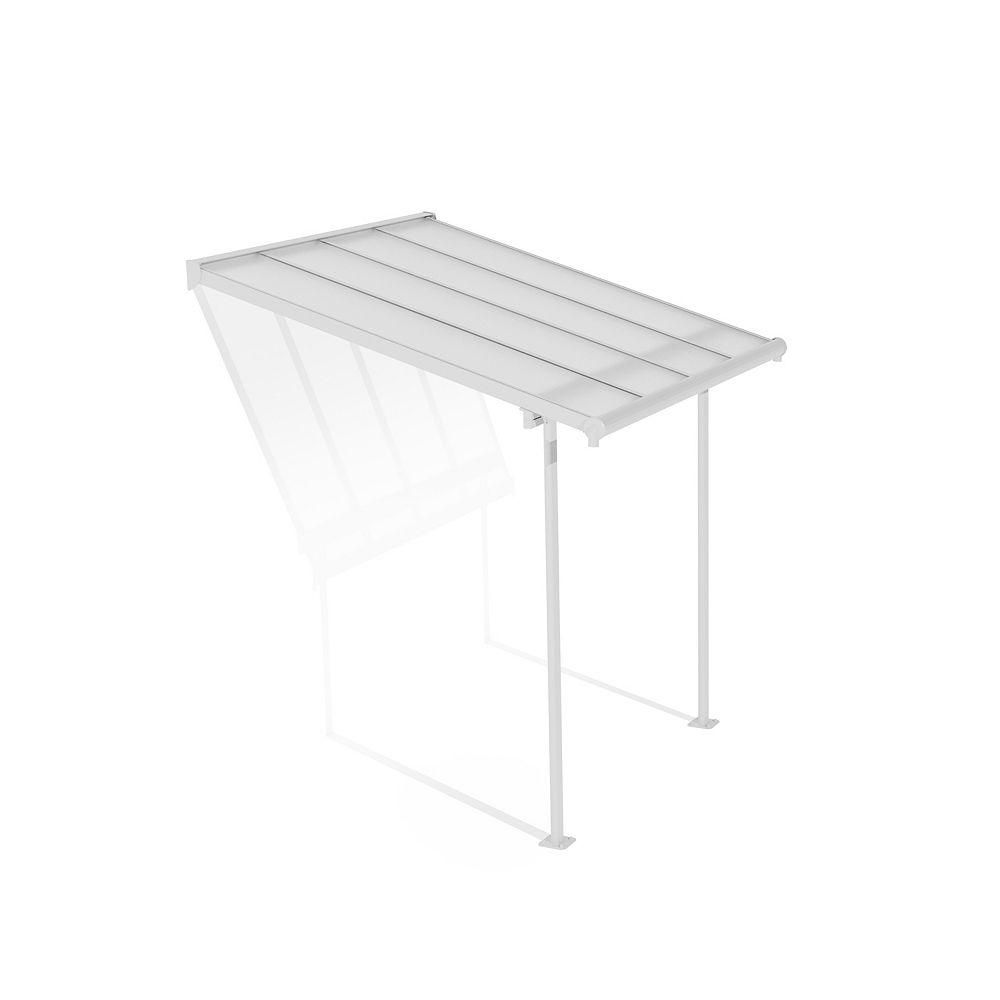Palram Palram - Sierra 7 ft. x 7.5 ft. Patio Cover in white
