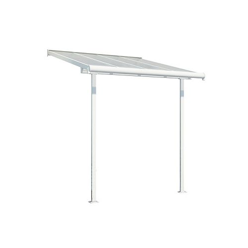Palram Palram - Sierra 7 ft. x 7.5 ft. Patio Cover in white