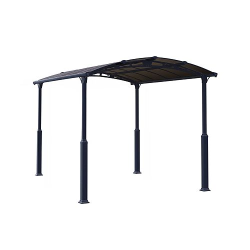 Palram Arcadia 4300 Alpine Carport / All-Seasons Shelter 12 ft. x 14 ft.