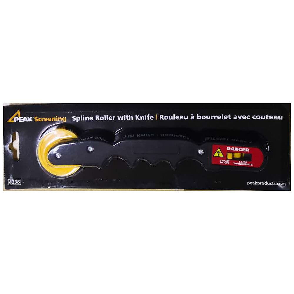 Peak Products Spline Roller with Knife