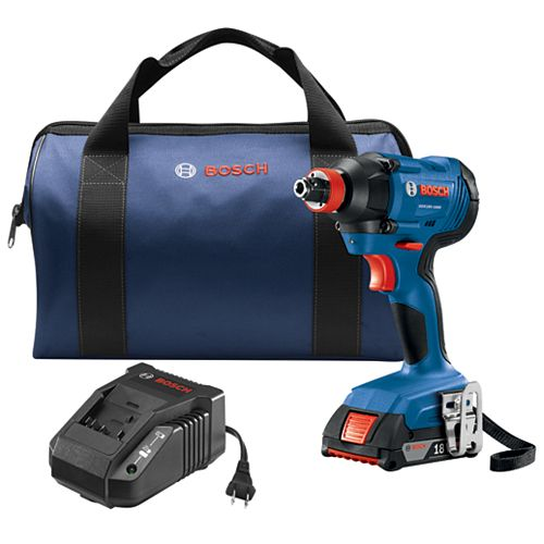 18V Two-In-One Bit/Socket Impact Driver Kit