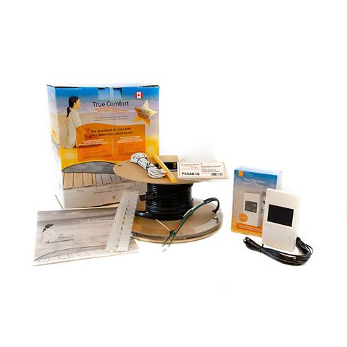 True Comfort Electric Underfloor Heating Kit -  120V - Covers 33 sq. ft.