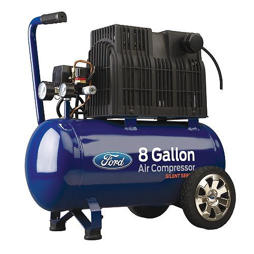 Ford 8 Gallon Horizontal Tank Air Compressor