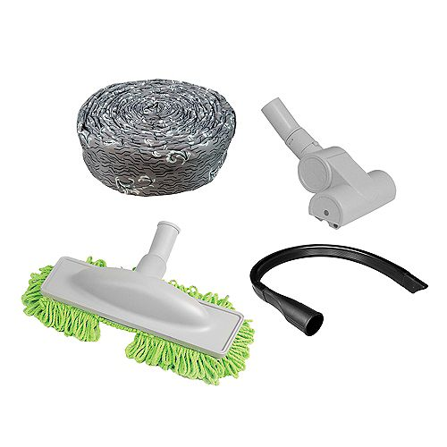ENHANCEMENT CLEANING KIT WITH ACCESSORIES, COMPATIBLE FOR MOST CENTRAL VACUUMS