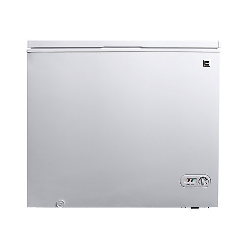 7.1 CU FT Compact Chest Freezer - White