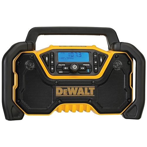 DEWALT 20V MAX Compact Bluetooth Radio (Tool Only)