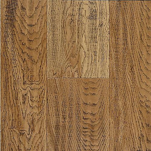 Échantillon - 7.48 po x 12 po, bois franc, fini imperméable, Bourbon vieilli