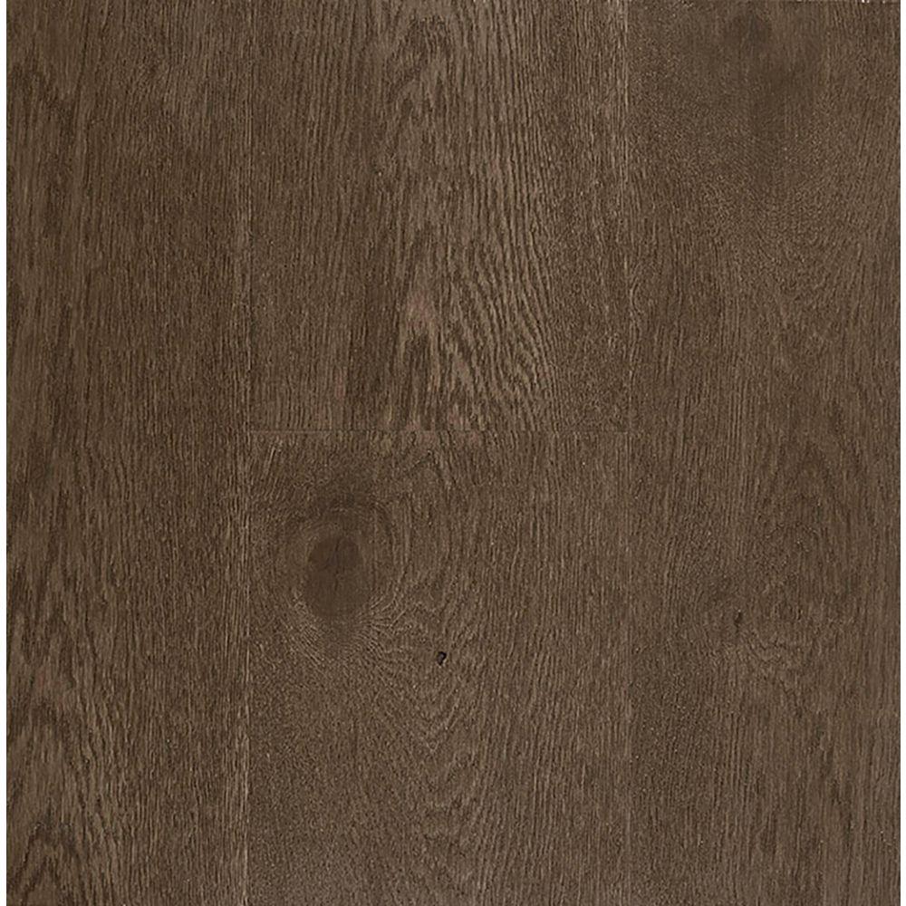 OptiWood Thunder Grey 0.31-inch x 7.48-inch x Varying Length Wide Waterproof Hardwood Flooring (17.47 sq. ft. / case)