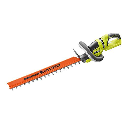 RYOBI 24 -inch 40V Lithium-Ion Cordless Battery Hedge Trimmer (Tool Only)
