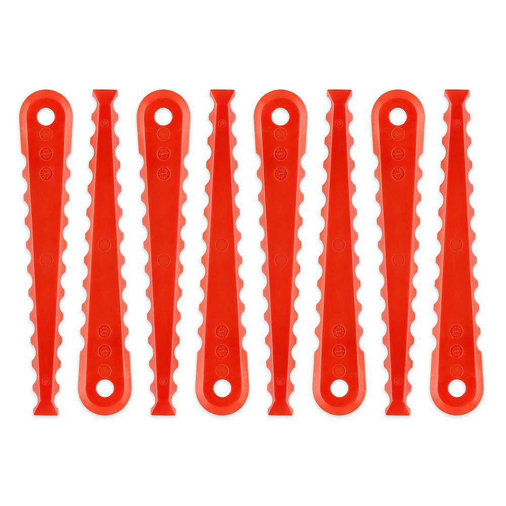 RYOBI Replacement Blades for 3-in-1 for Fixed String Trimmer Head (8-Pack)
