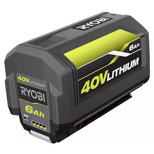 40V Lithium-Ion 6 Ah High Capacity Battery