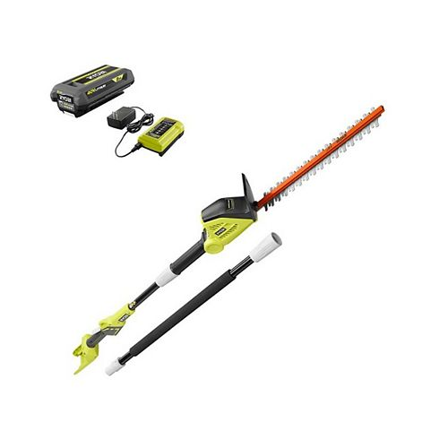 18 -inch 40V Lithium-Ion Cordless Pole Hedge Trimmer with 2.0 Ah Battery and Charger Included
