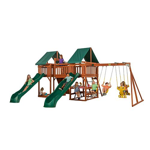 Sequoia Complete Wooden Swingset
