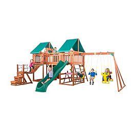 Installation de jeu en bois Jungle Fun