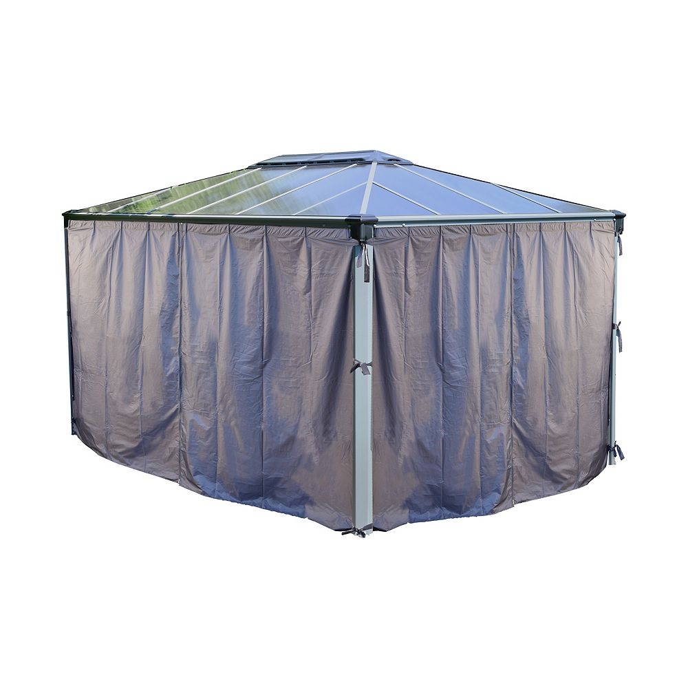 Palram Palram Martinique 4300 Gazebo Shade Curtain Kit