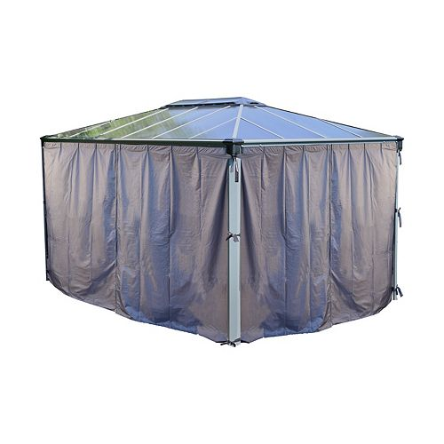 Palram Palram Martinique 4300 Gazebo Shade Curtain Kit