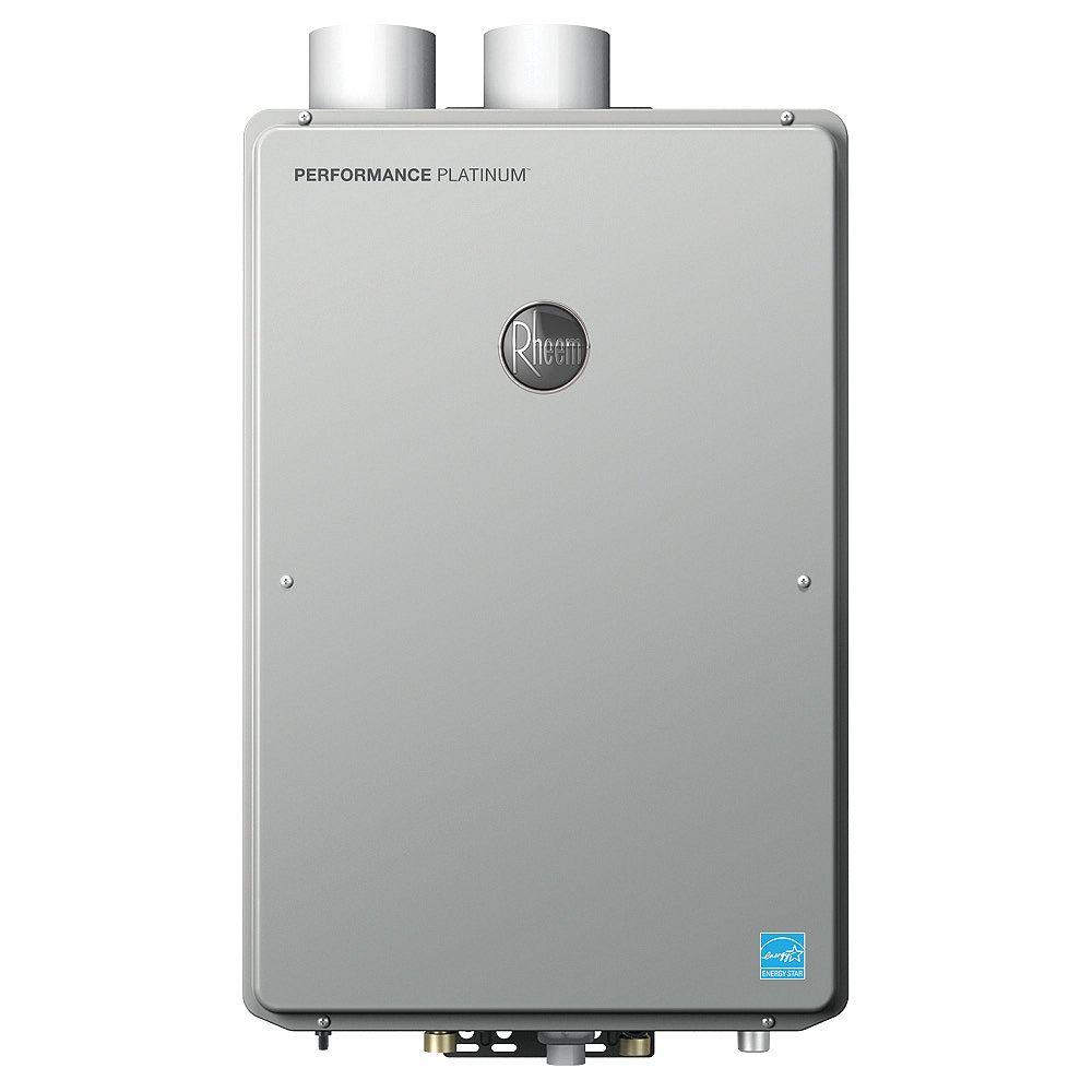 Rheem Rheem Platinum Condensing 18.5 Litres Per Minute  Propane Tankless Water Heater, 199K BTU