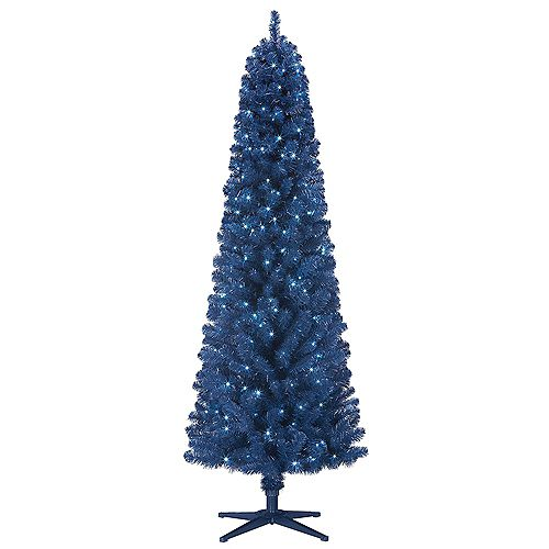 6.5 ft. Westcott Pine Pre-Lit Tree with 200 Cool White Micro Dot LED Lights