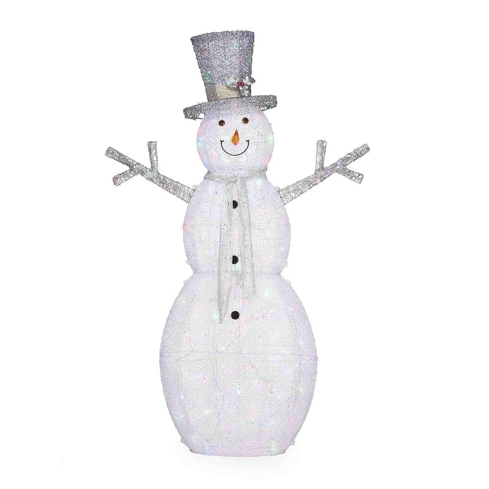 Home Accents Holiday 6 ft. LED Snowman Christmas Decoration