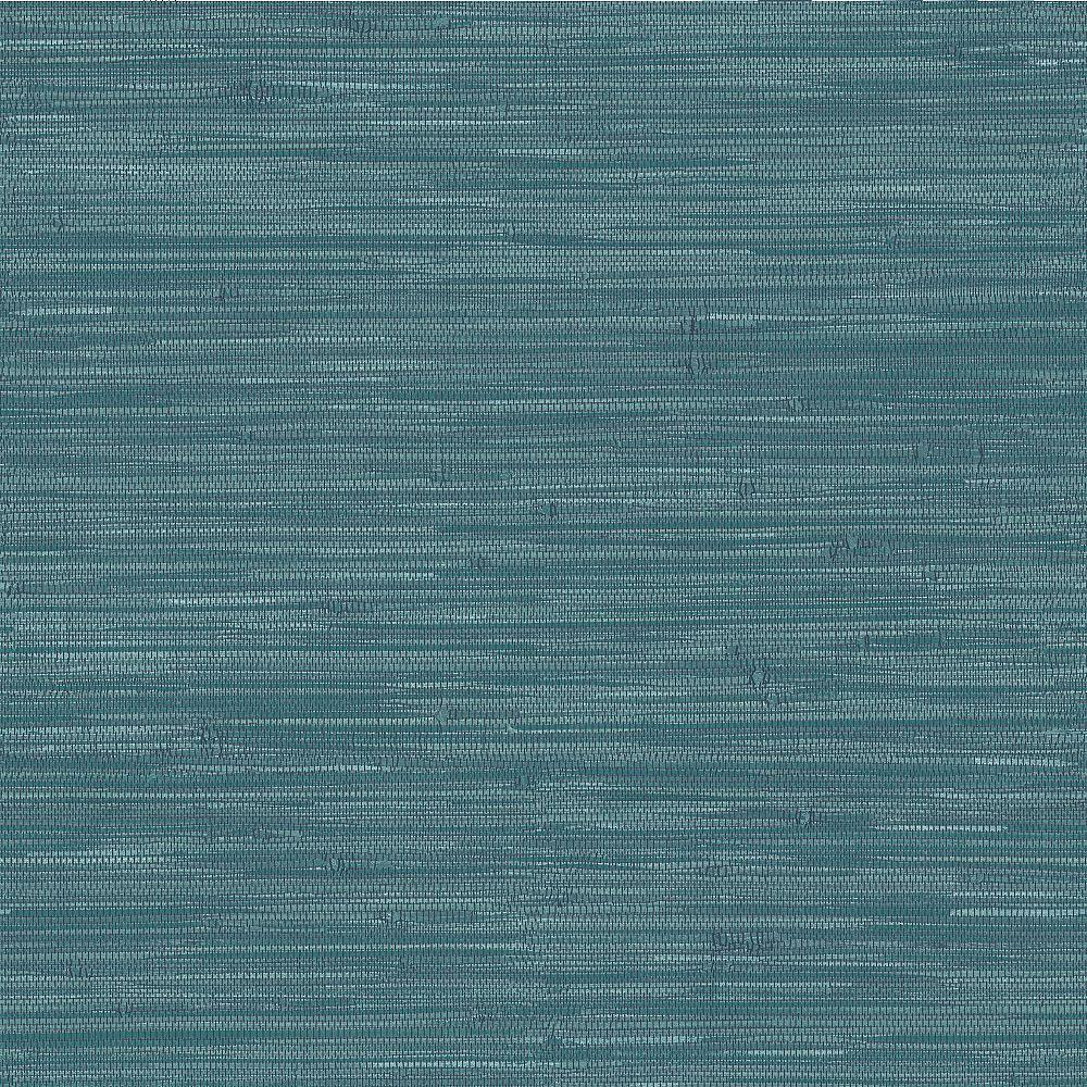 Nuwallpaper Navy Grassweave Peel Stick Wallpaper The Home Depot Canada