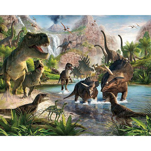 Dinosaur Land Wall Mural