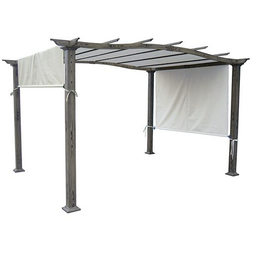 """Universal Replacement Pergola Canopy Top (Beige) (Size: 80"""" x 206"""")"""