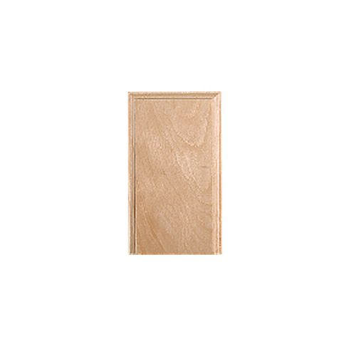 "7/8 X 3.5 X 6"" BASSWOOD PLINTH BLOCK"