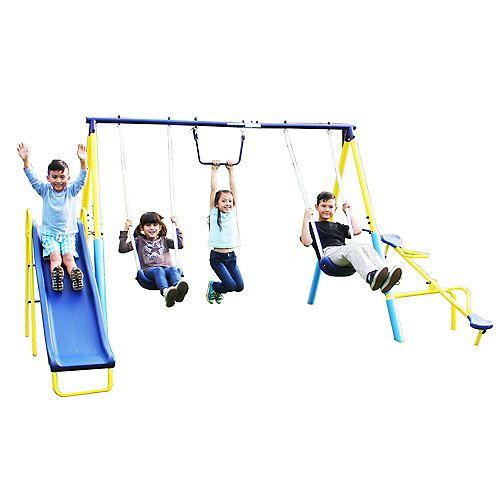 Super First Metal Swing Set