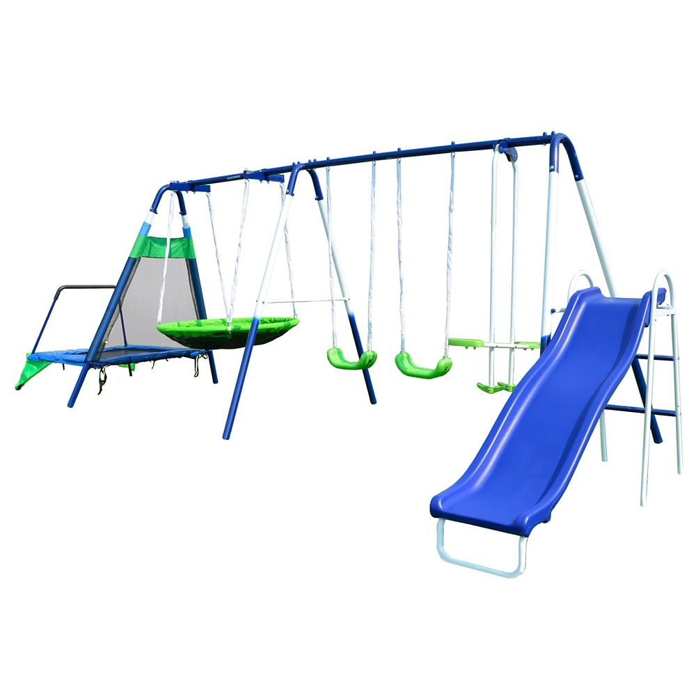 Mountain View Metal Swing Set