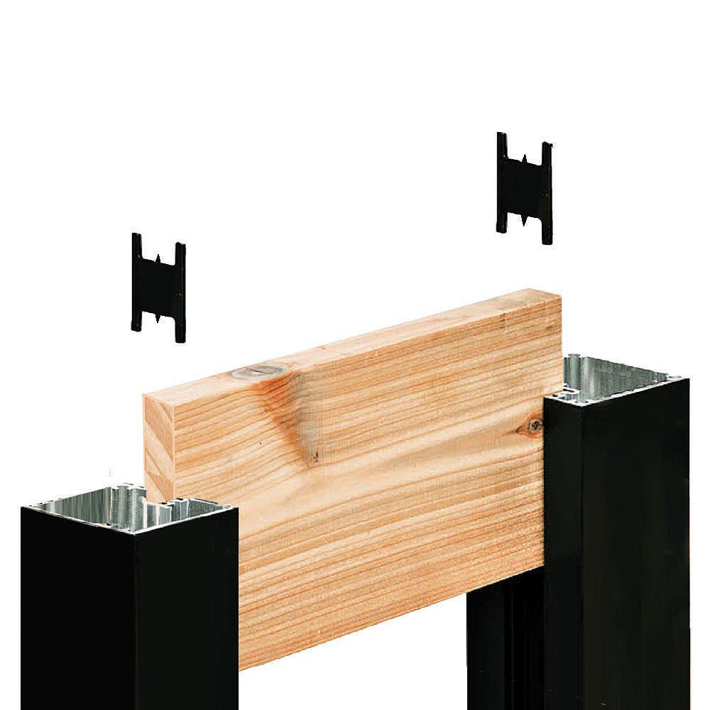 HOFT Kit A6 - One 72 in. End Post (black) & Hardware