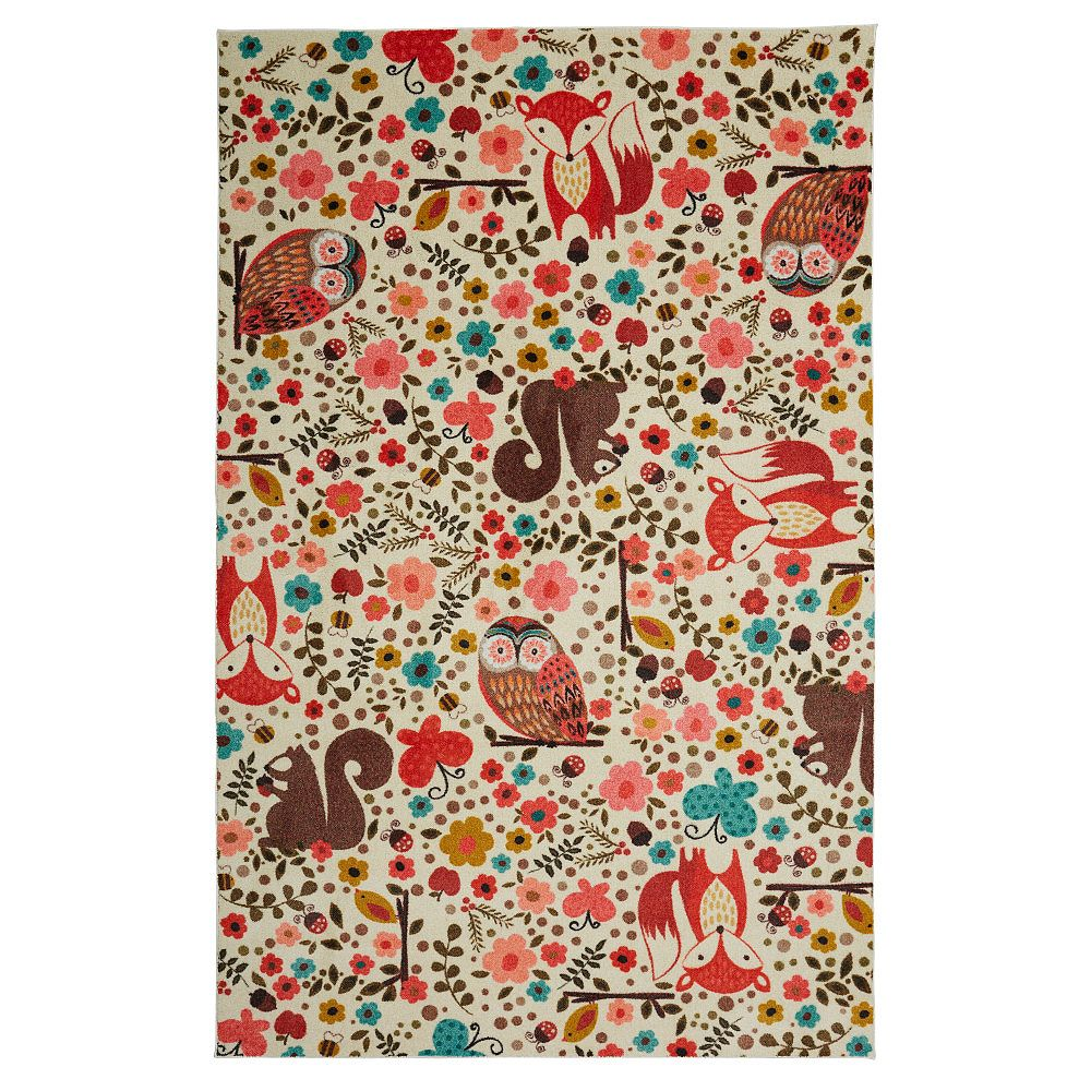Mohawk Home Enchanted Forest Multi 5 ft. x 8 ft. Indoor Area Rug