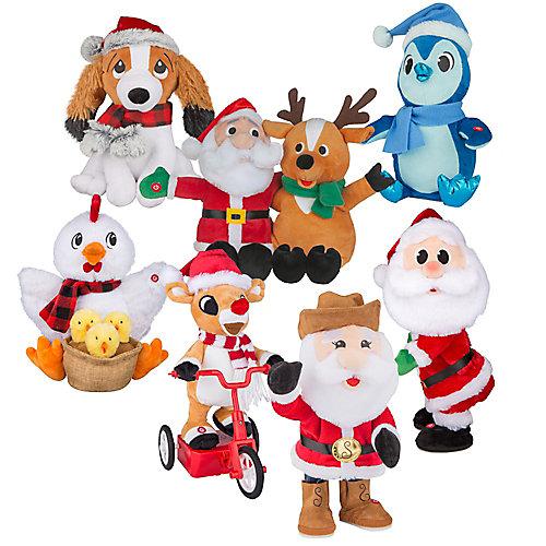 Animated Musical Plush Christmas Characters
