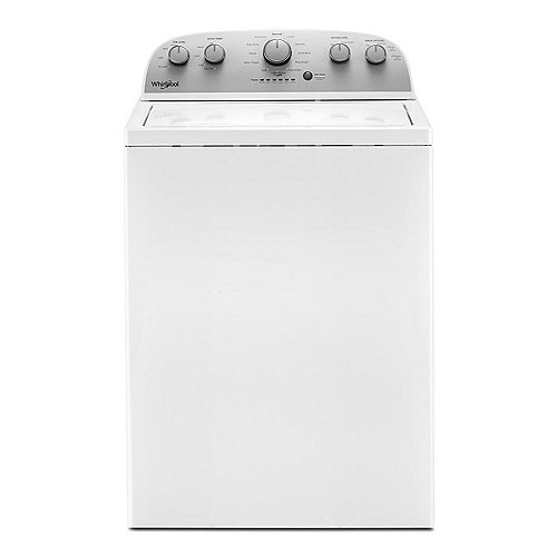 4.2 cu. ft. White Top Load Washing Machine with Agitator