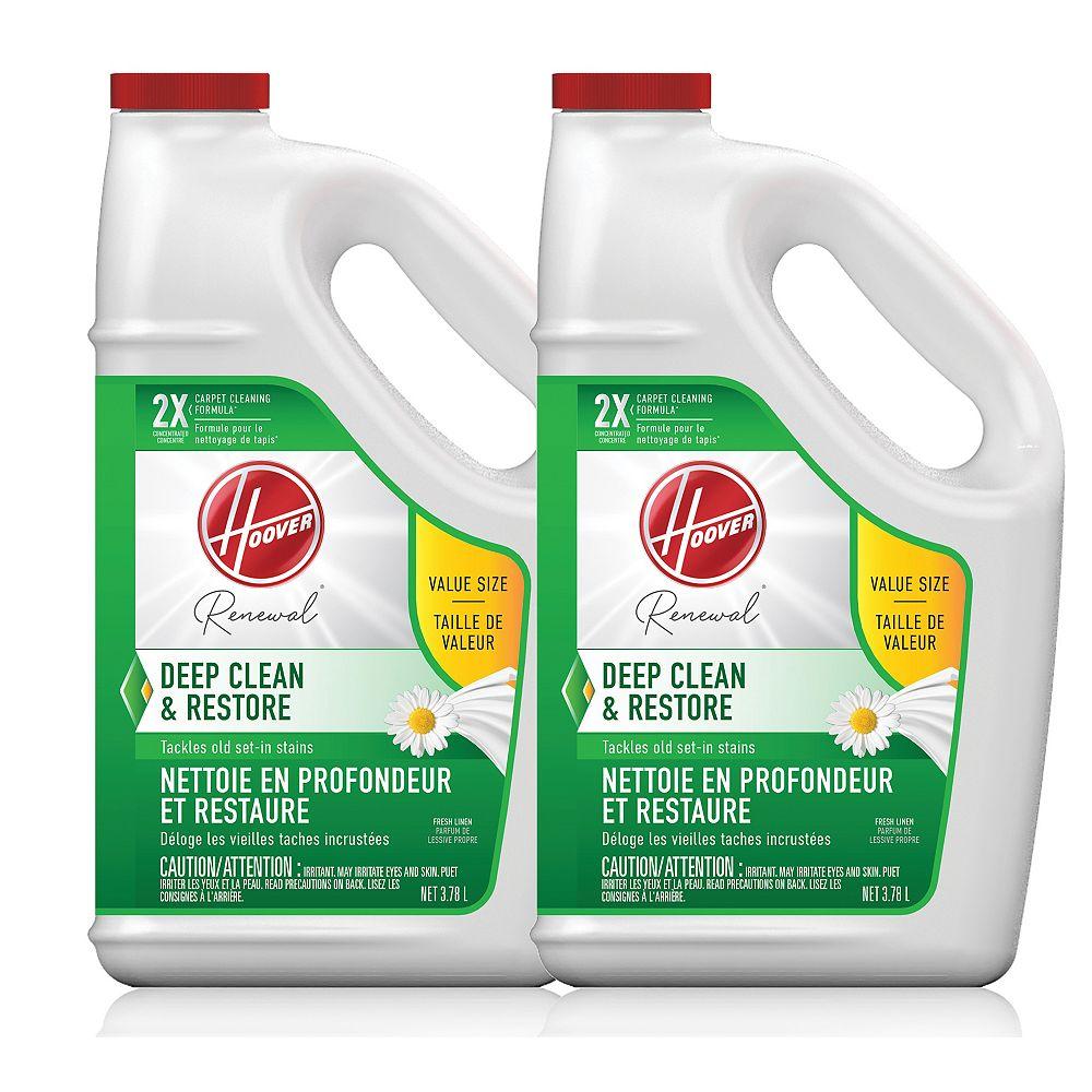 Hoover Deep Clean & Restore Carpet Cleaning Formula, 128 oz - 2 Pack