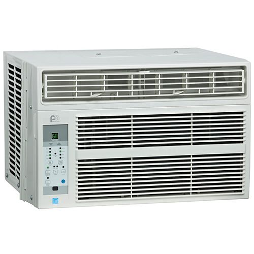 Perfect Aire 5PAC8000 8,000 BTU 115V Energy Star Window Air Conditioner with Remote Control